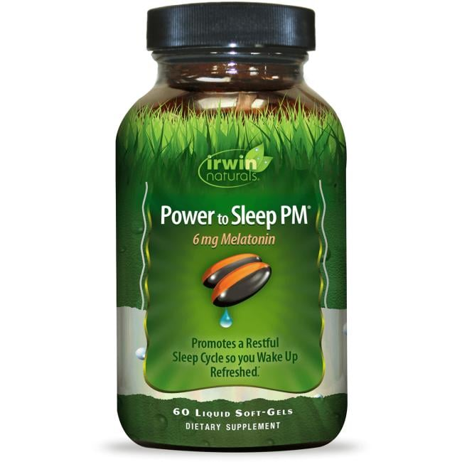 Irwin Naturals Power to Sleep PM 6mg Melatonin