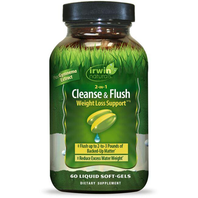Irwin Naturals 2-IN-1 Cleanse & Flush Weight Loss Support