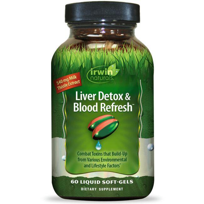 Irwin NaturalsLiver Detox & Blood Refresh