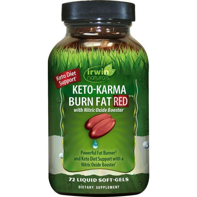 Irwin NaturalsKeto-Karma Burn Fat RED