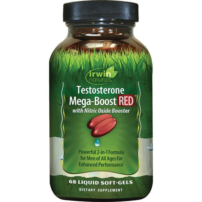 Irwin Naturals Testosterone Mega Boost RED