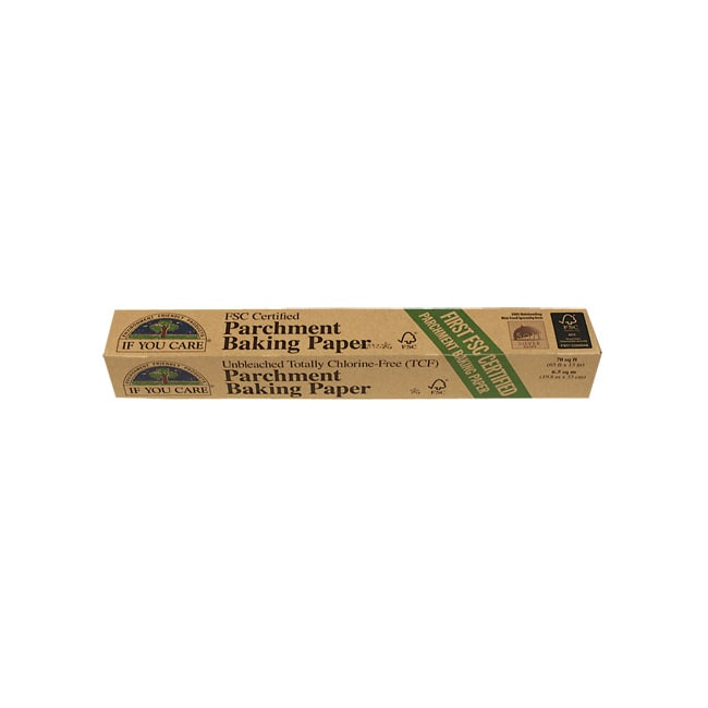 If You CareUnbleached Parchment Baking Paper - 70 sq ft