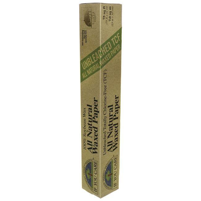 If You Care Unbleached All Natural Waxed Paper - 75 sq ft