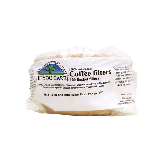 If You Care Unbleached Coffee Basket Filters