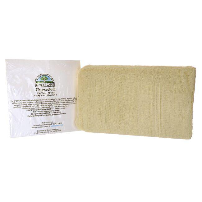 If You Care100% Unbleached Cotton Cheesecloth - 2 sq. yards