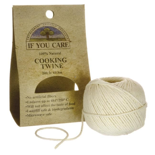 If You Care 100% Natural Cooking Twine - 200 Feet