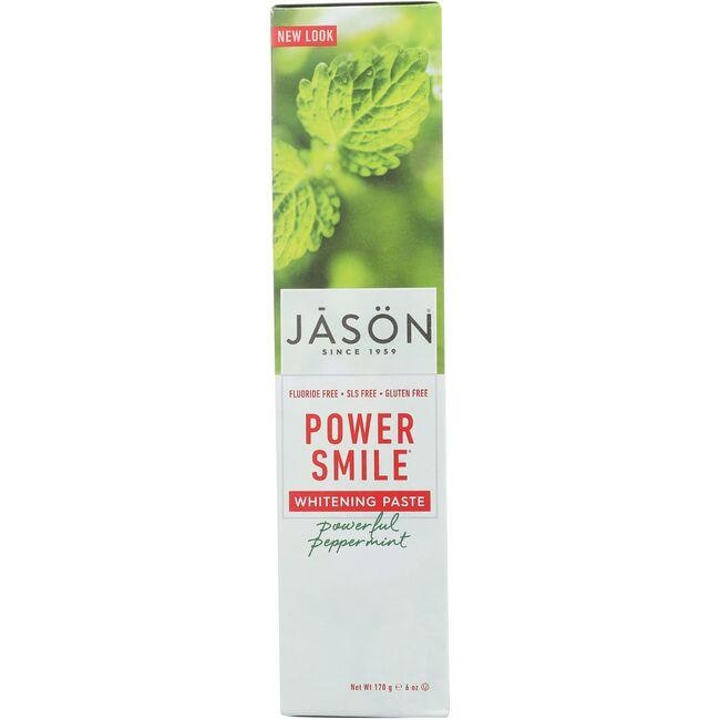 Jason PowerSmile Whitening Paste - Powerful Mint