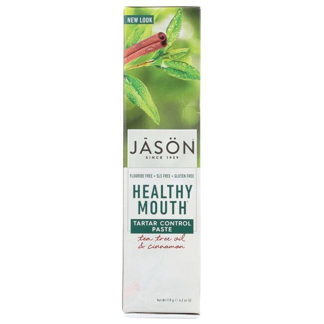 JasonHealthy Mouth Tartar Control Paste - Tea Tree Oil & Cinnamon