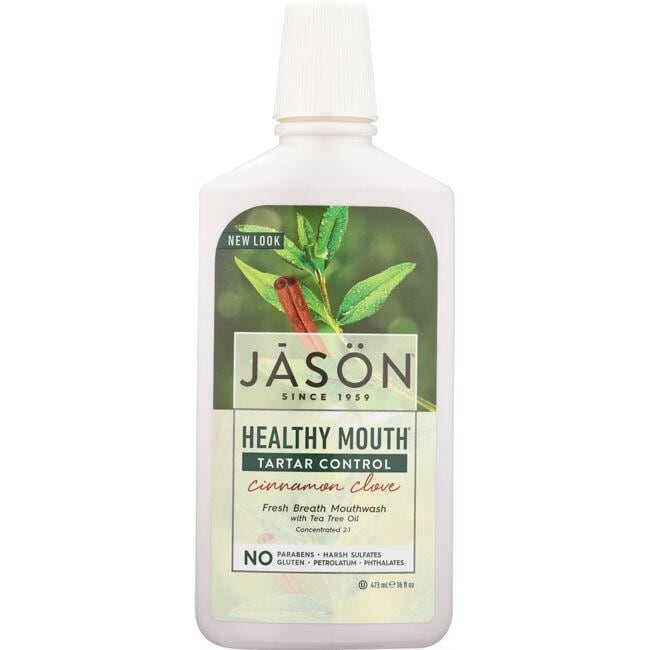 Jason Healthy Mouth Tea Tree & Cinnamon Mouthwash