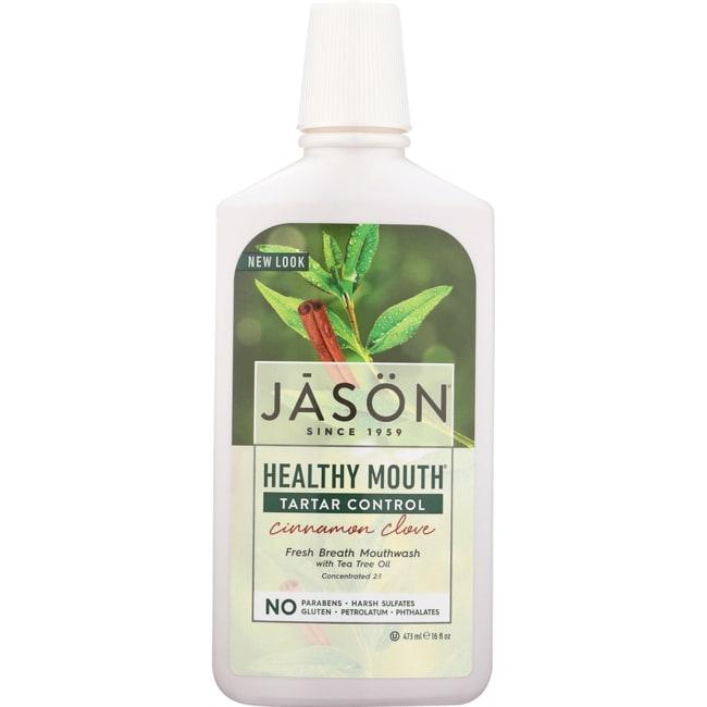Jason Natural Healthy Mouth Tea Tree & Cinnamon Mouthwash