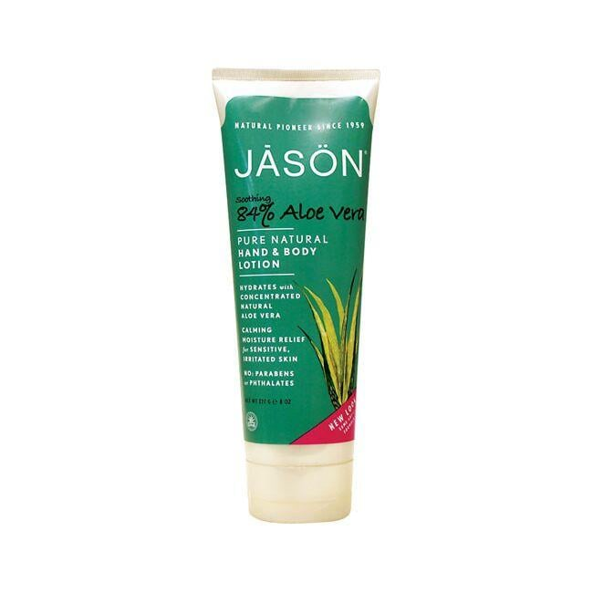 Jason Soothing 84% Aloe Vera Hand & Body Lotion