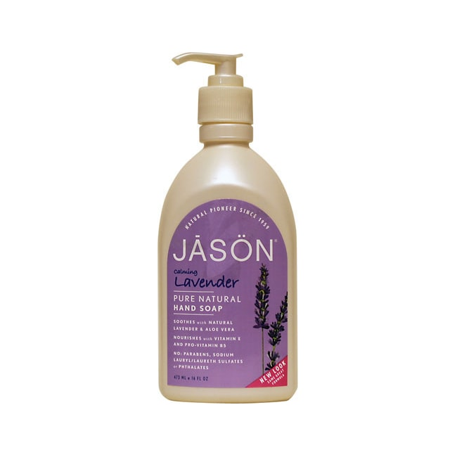 Jason NaturalCalming Lavender Pure Natural Hand Soap