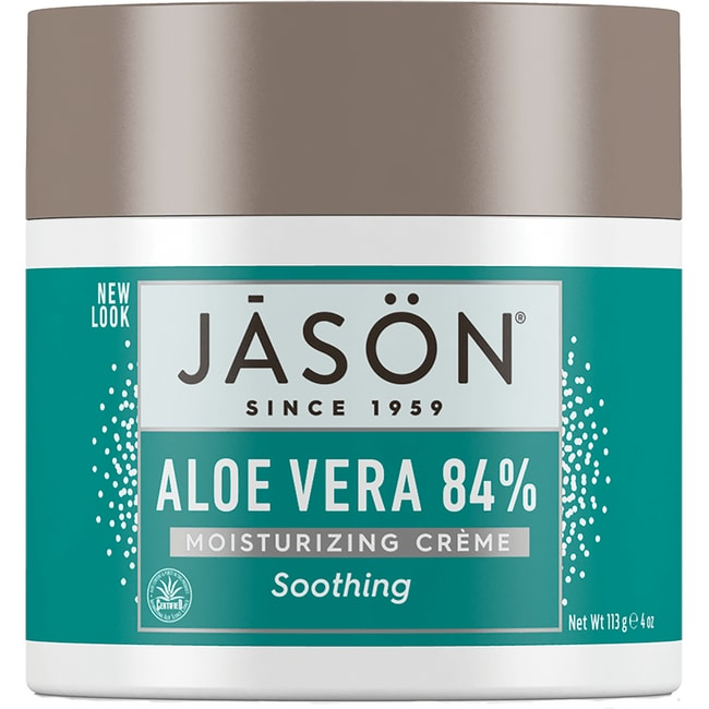 jason natural soothing 84 aloe vera moisturizing creme 4 oz 113 grams cream swanson. Black Bedroom Furniture Sets. Home Design Ideas