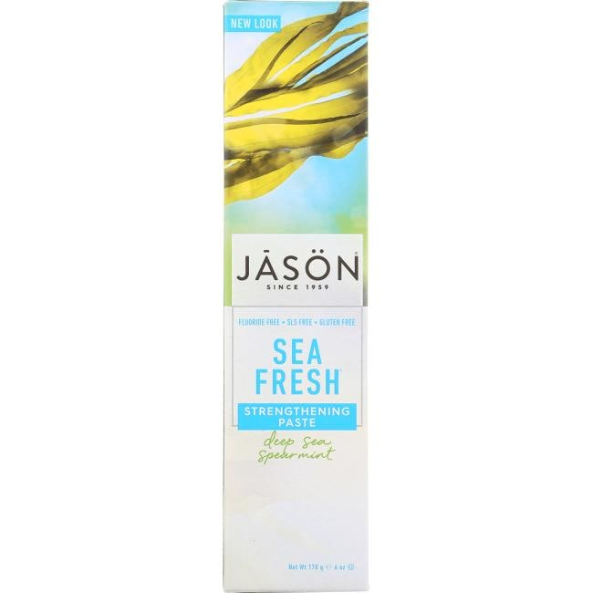Jason NaturalSea Fresh Antiplaque & Strengthening Toothpaste -Spearm