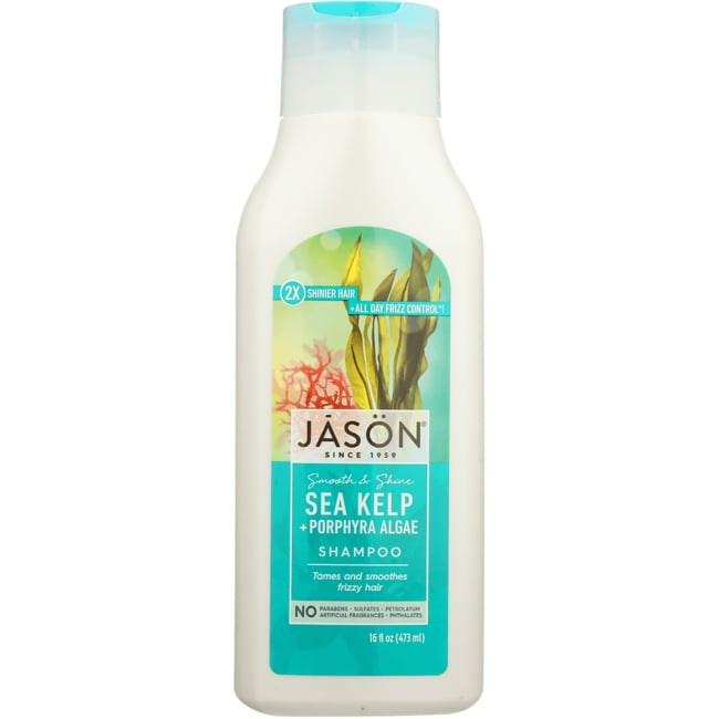 Jason NaturalPure Natural Shampoo - Smoothing Sea Kelp