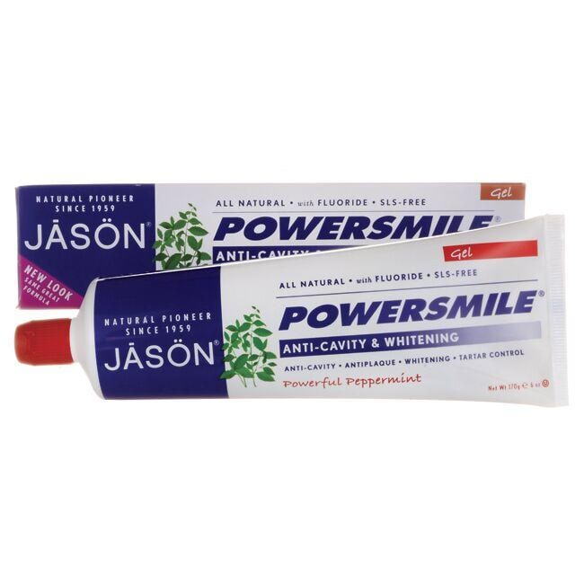 Jason Powersmile Anti-Cavity & Whitening - All Natural