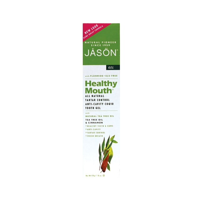 Jason Natural Healthy Mouth All Natural Tooth Gel