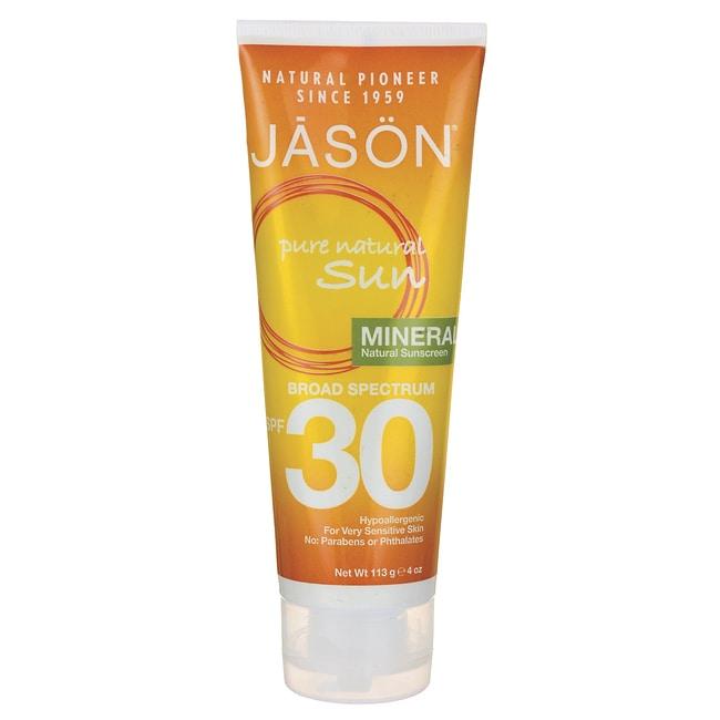 Jason NaturalPure Natural Sun Natural Sunscreen SPF 30 - Mineral