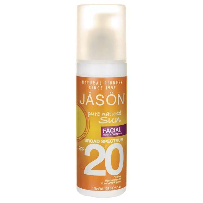 Jason Pure Natural Sun Natural Sunscreen SPF 20 - Facial