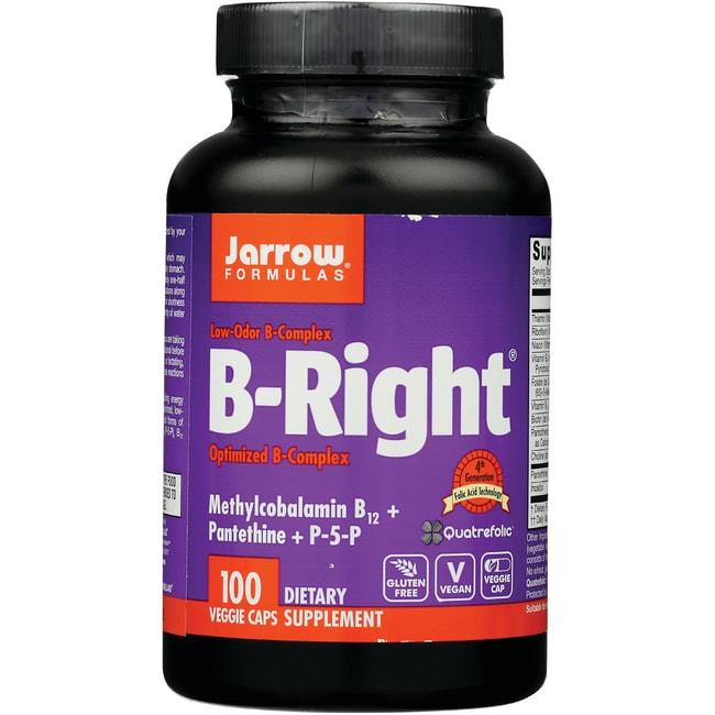 Jarrow Formulas, Inc. B-Right Optimized B-Complex