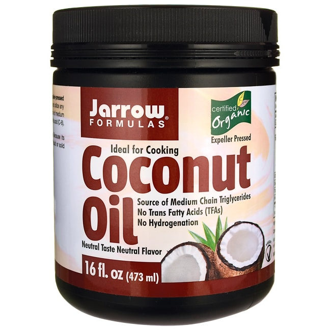 Jarrow Formulas, Inc. Coconut Oil