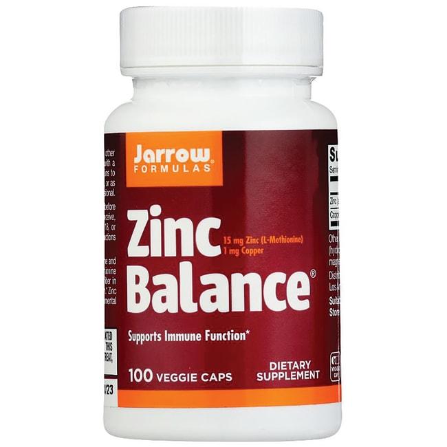 Jarrow Formulas Inc Zinc Balance 15 Mg 100 Caps
