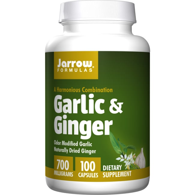Jarrow Formulas, Inc.Garlic + Ginger