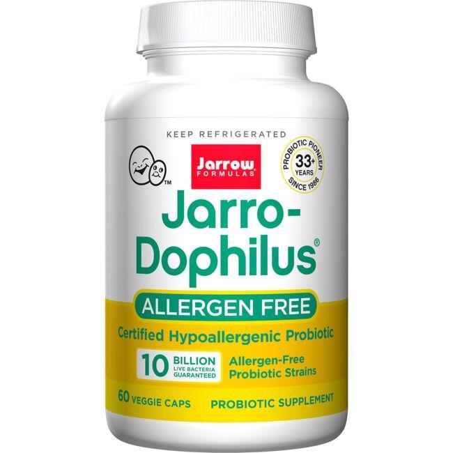 Jarrow Formulas, Inc.Jarro-Dophilus Allergen-Free 10 Billion