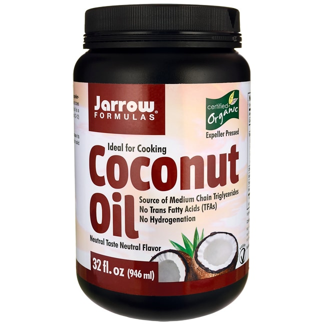 Jarrow Formulas, Inc. Organic Coconut Oil
