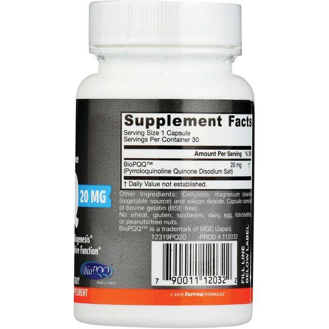 Jarrow Formulas, Inc.PQQ Close Up
