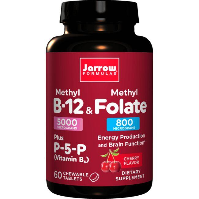 Jarrow Formulas, Inc.Methyl B-12 & Methyl Folate + P-5-P - Cherry