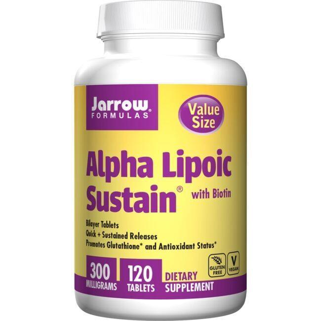 Jarrow Formulas, Inc.Alpha Lipoic Sustain with Biotin