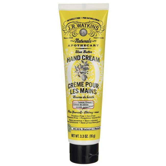 J.R. WatkinsShea Butter Hand Cream - Lemon Scent