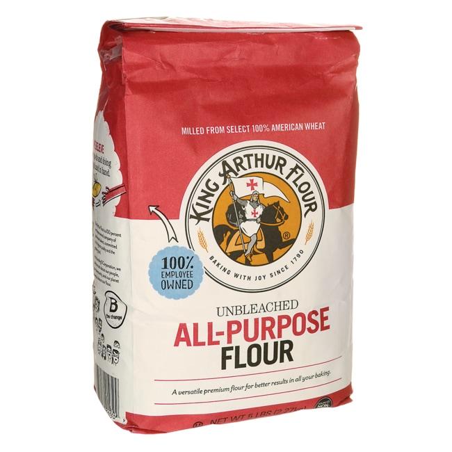 King Arthur Flour Unbleached All-Purpose Flour 5 lbs (2.27