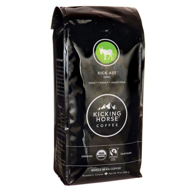 Kicking Horse CoffeeKick Ass - Dark Roast, Whole Bean