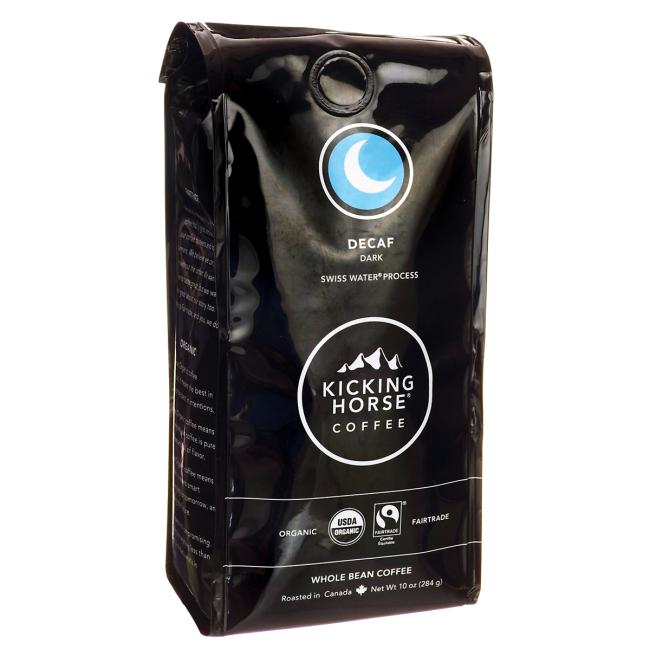 Kicking Horse Coffee Decaf - Dark Roast, Whole Bean