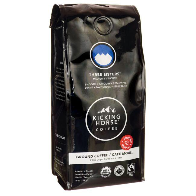 Kicking Horse Coffee Three Sisters - Medium Roast, Ground