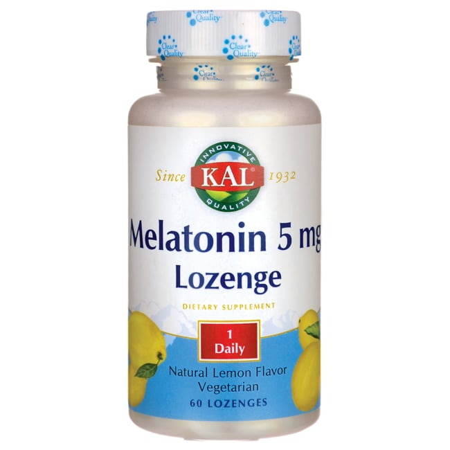 KalMelatonin Lozenge Natural Lemon Flavor