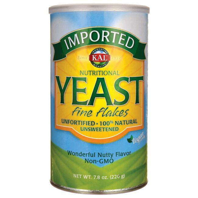 Kal Nutritional Yeast Fine Flakes - Nutty Flavor