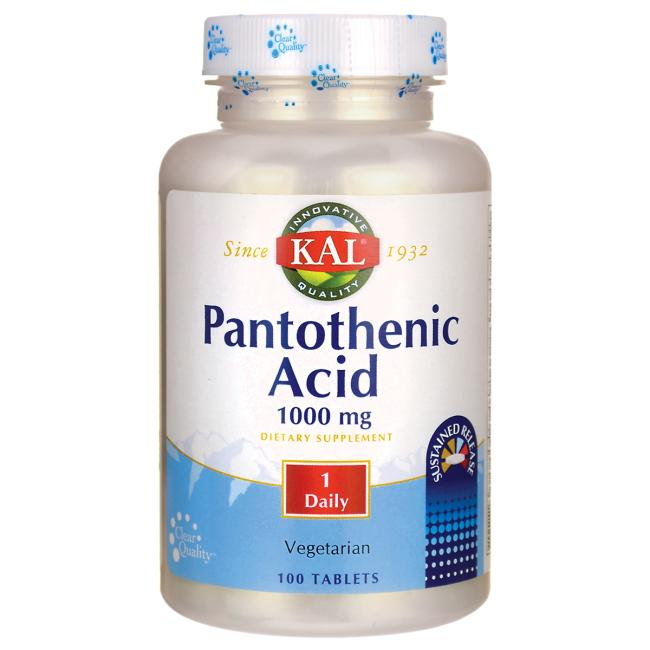 Kal Pantothenic Acid Sustained Release