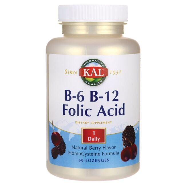 KalB-6 B-12 Folic Acid - Berry