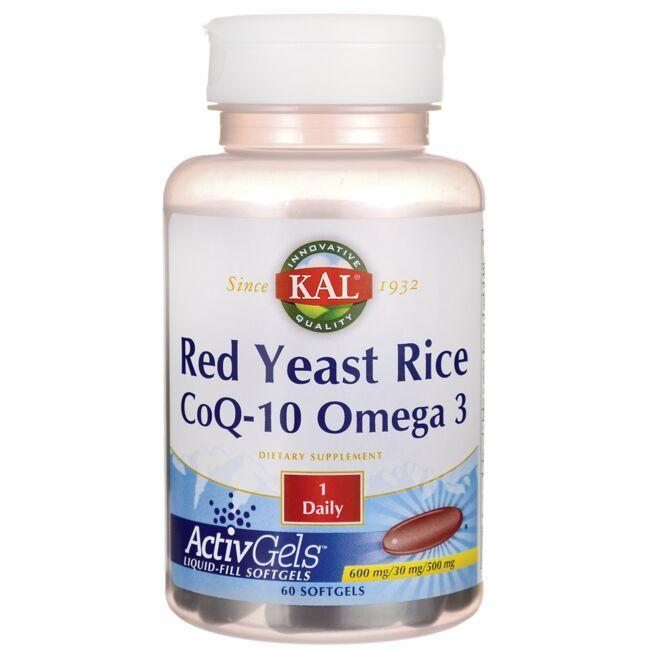 KalRed Yeast Rice CoQ-10 Omega 3