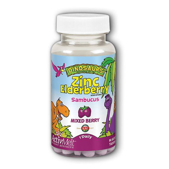 Kal Zinc Elderberry ActivMelt - Mixed Berry