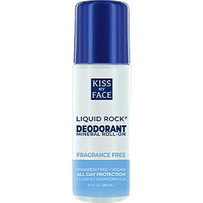 Kiss My Face Liquid Rock Roll-On Fragrance Free
