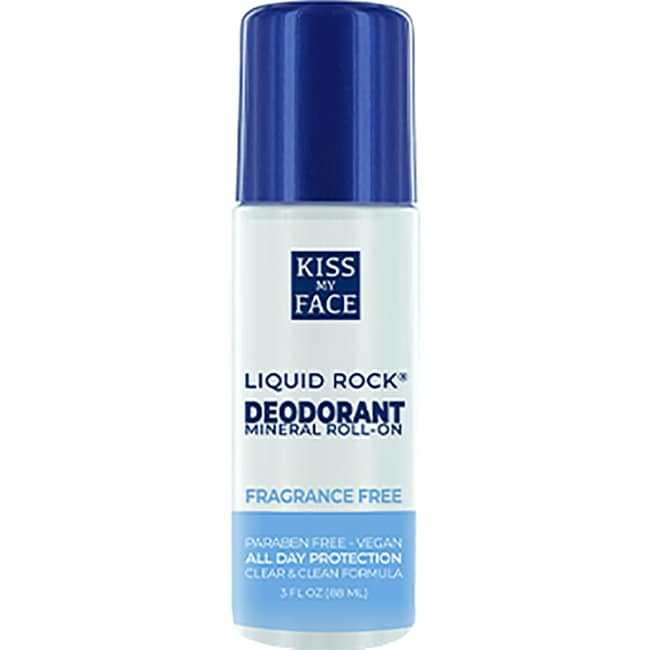 Kiss My Face Liquid Rock Roll-On Fragrance Free
