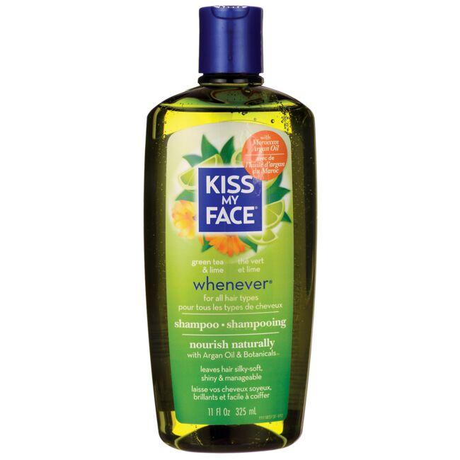 Kiss My Face Whenever Shampoo for All Hair Types