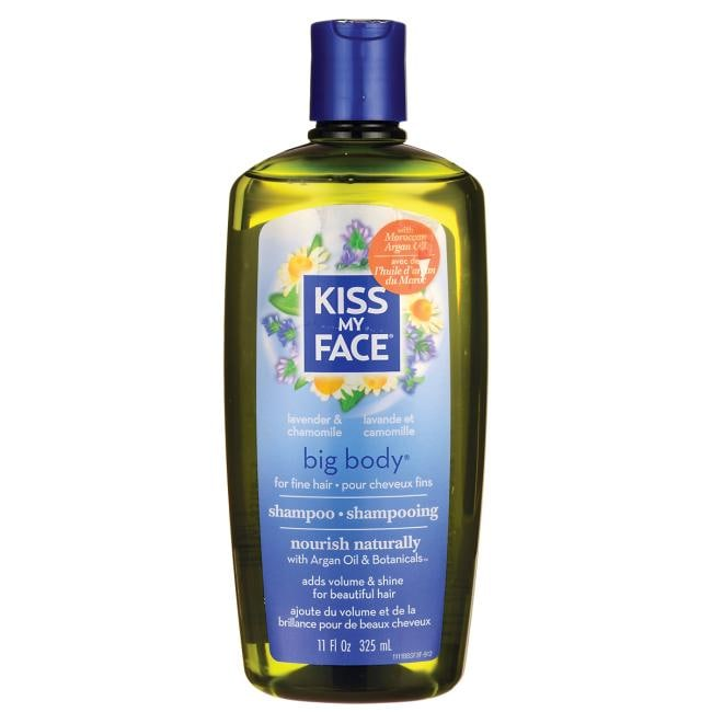 Kiss My Face Big Body Shampoo for Fine Hair - Lavender & Chamomile
