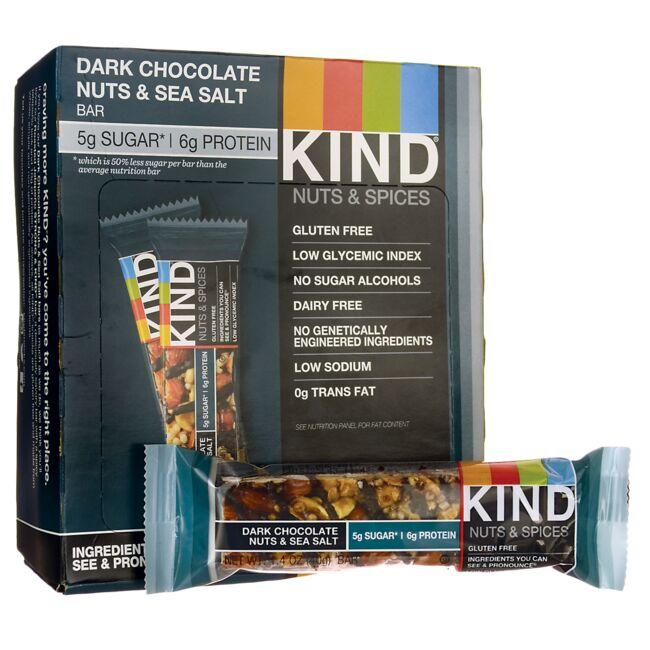 Kind Nuts & Spices - Dark Chocolate Nuts & Sea Salt