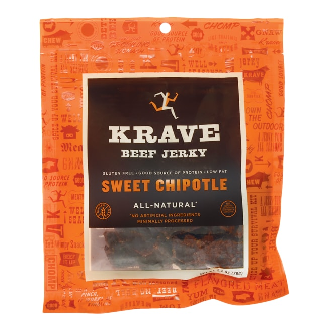 KraveAll-Natural Beef Jerky - Sweet Chipotle