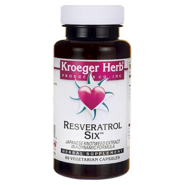 Kroeger HerbResveratrol Six - Japanese Knotweed